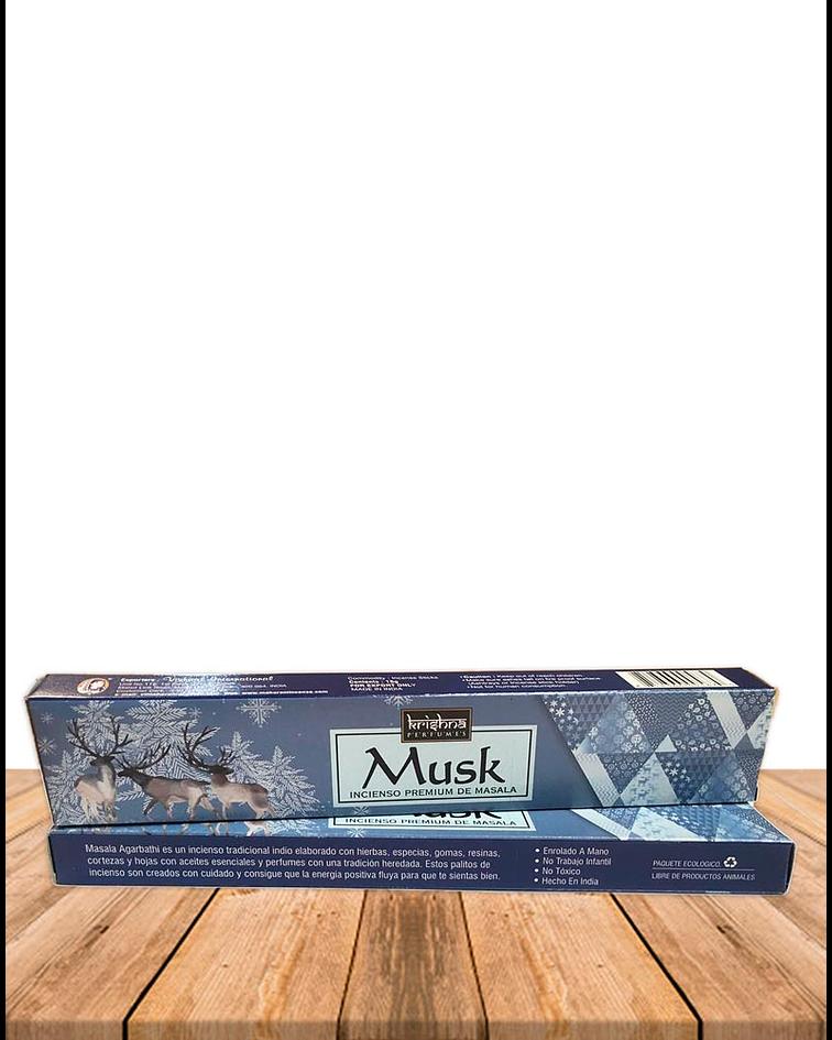 Incienso Krishna Premium Musk