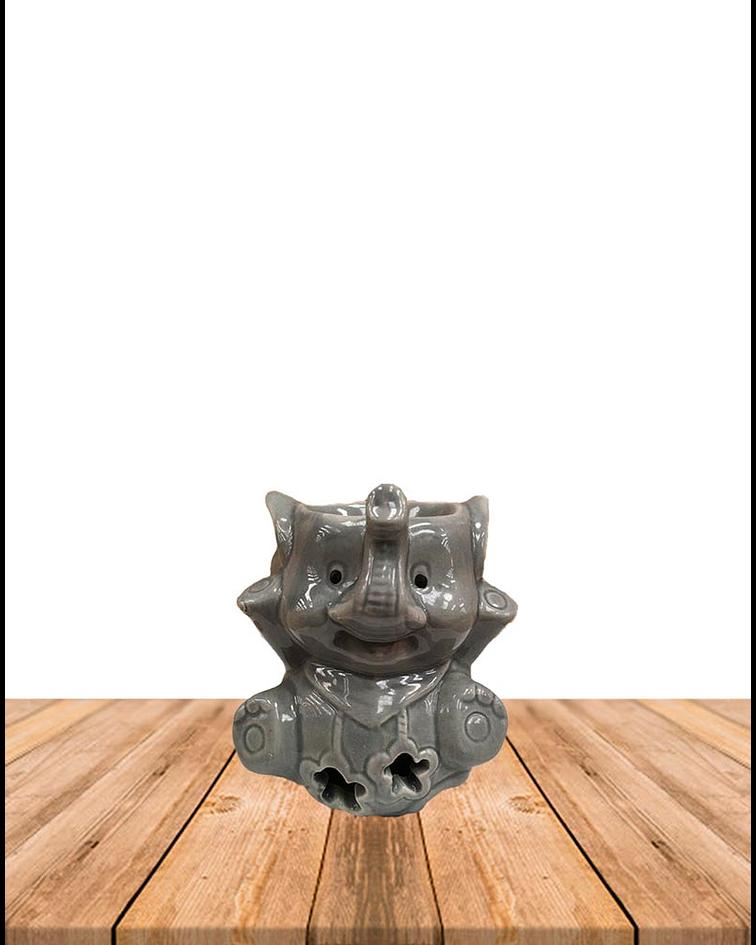 Difusor de cerámica de elefante sentado