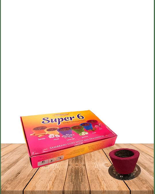 Resina Natural  Copa  Super Six