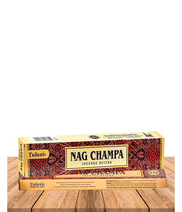 Incienso Tulasi Nag Champa Natural