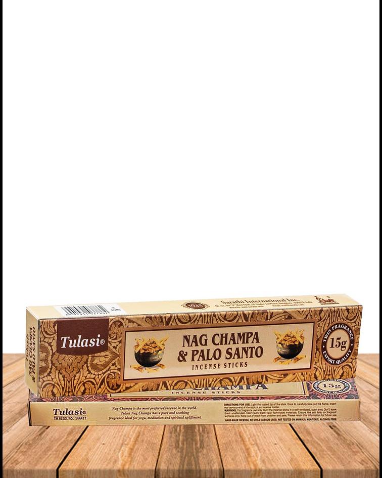 Incienso Tulasi Nag champa & Palo Santo
