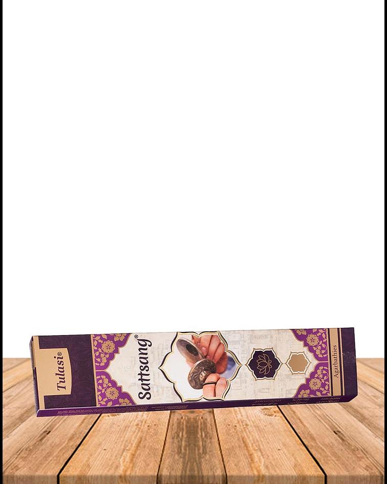 Incienso Tulasi Premium Sattsang 25Gr