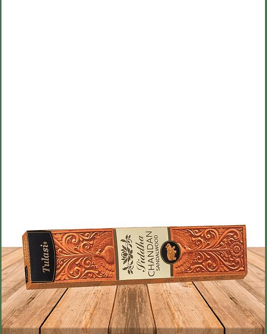 Incienso Tulasi Premium Siddha Chandan 25Gr