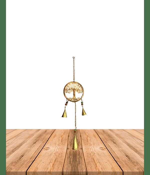 Colgante metal arbol de la vida SLV19-28