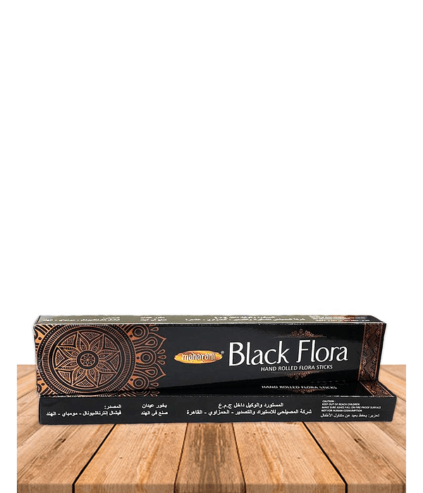 Inciensos Premium  Black Flora