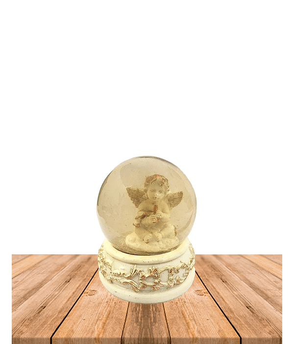 Angel en Esfera de Cristal GW21360