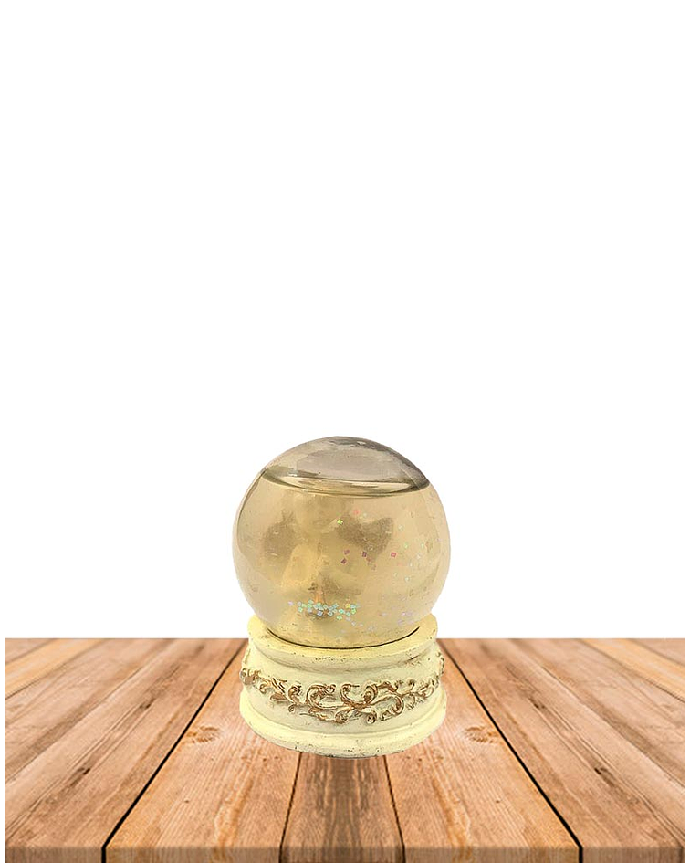 Angel en Esfera de Cristal Mini GW12197