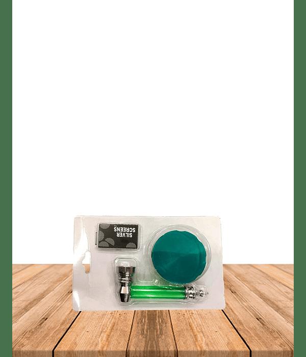 Set Pipa Moledor Vidrio - Rejilla NEW01
