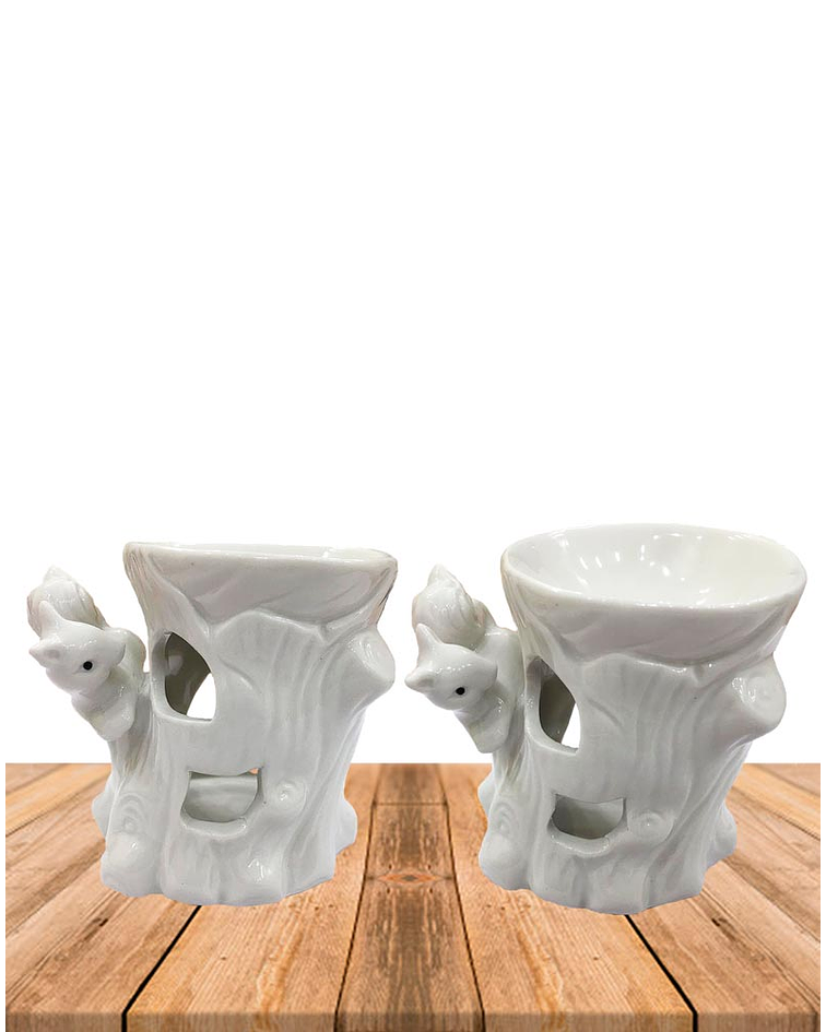 Difusor de cerámica Ardilla y Ave JI19-214