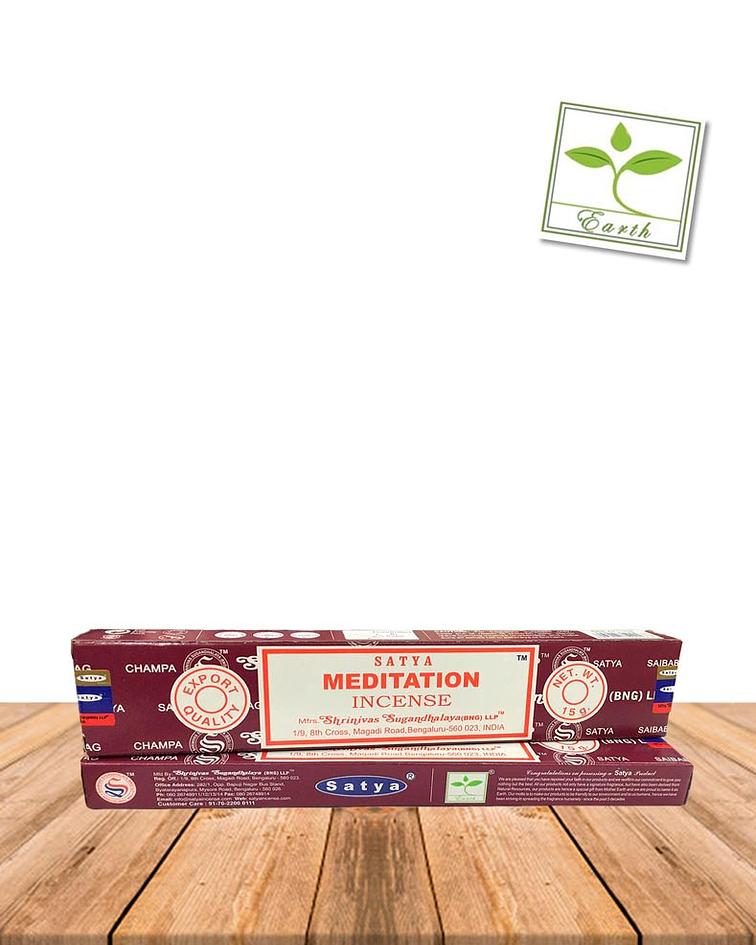 Incienso Satya Meditación 15 gr.
