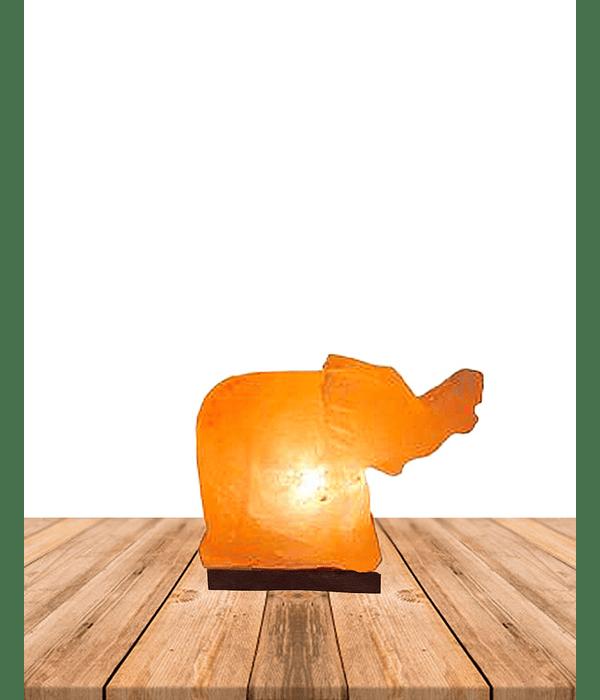 """Lampara de Sal Del Himalaya Elefante 7"""""""