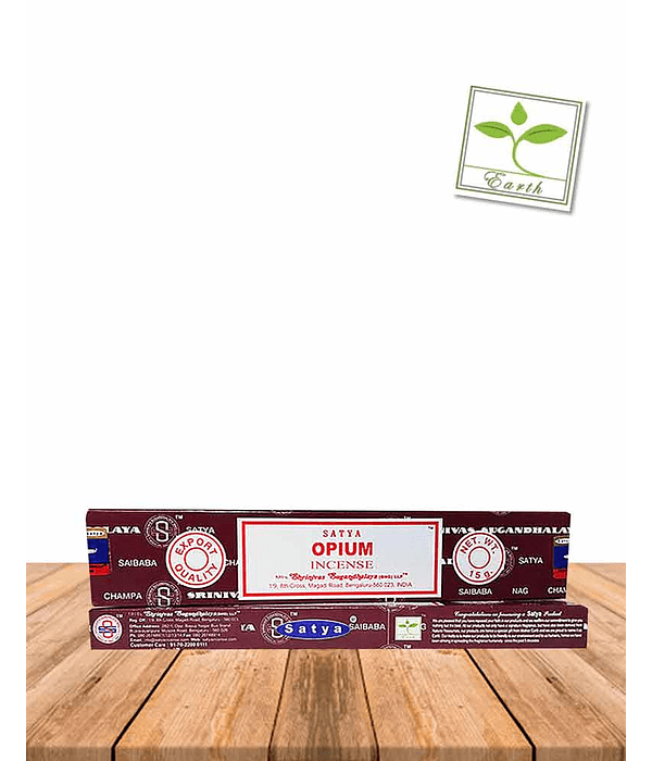 Incienso Satya Opium 15 gr.