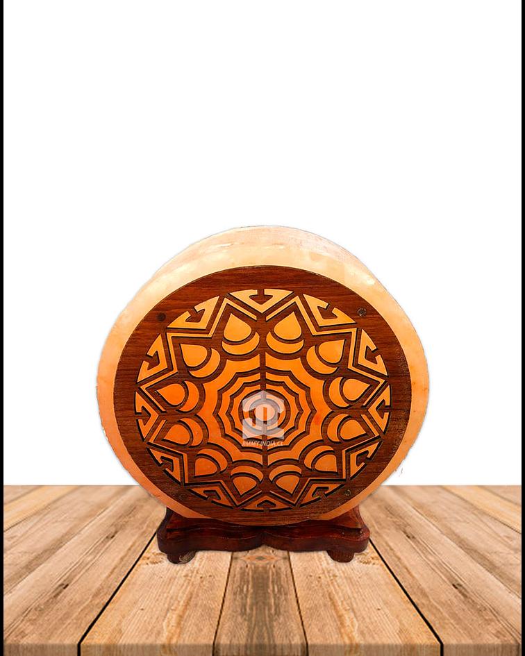 """Lampara de Sal Diseño N°14 Mandala   9"""""""