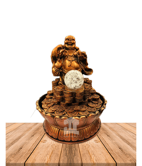"Pileta  Buda con Monedas Mediano JI19-062 10"""