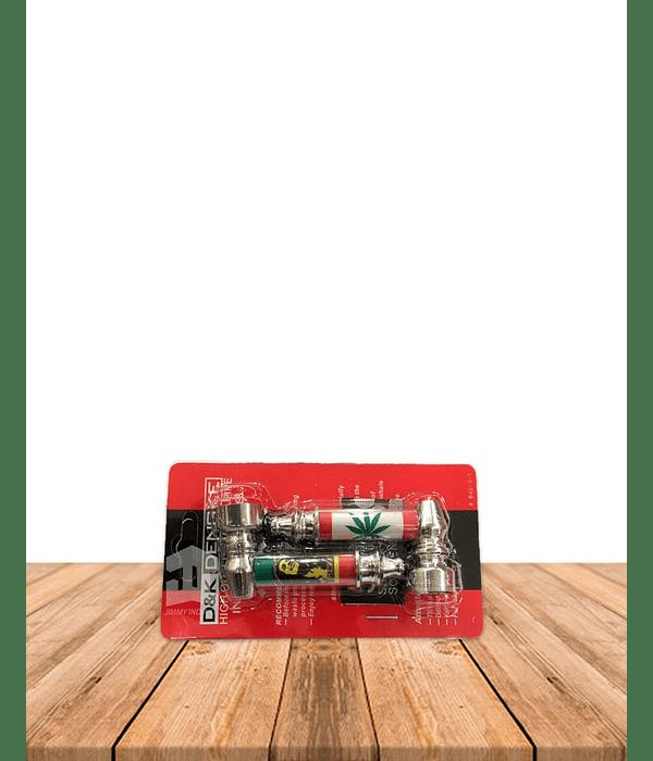Set Pipas Metal - Rejilla  DK8001E