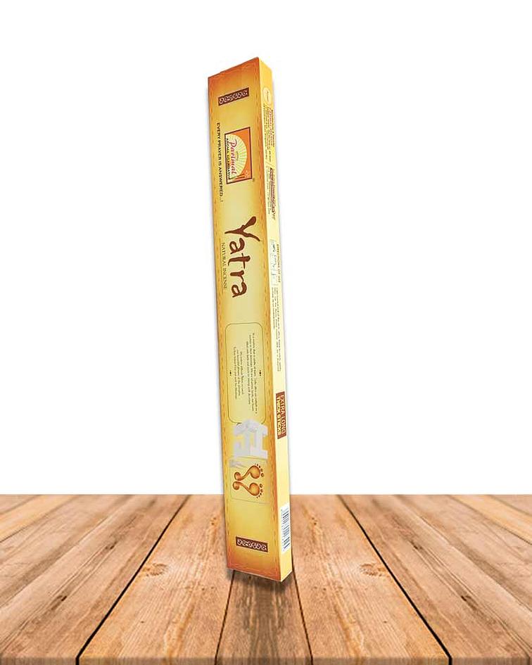 "Incienso Yatra long 16 "" caja de 12"