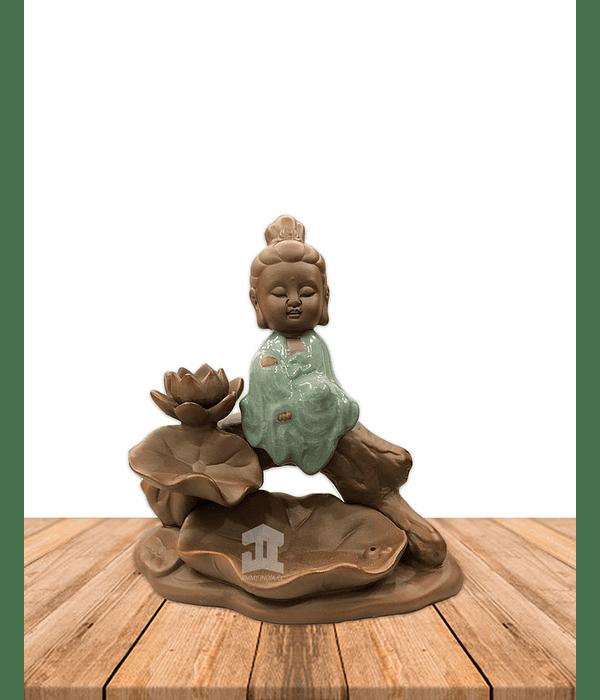 Cascada de Humo  Buda Meditación JI20-76