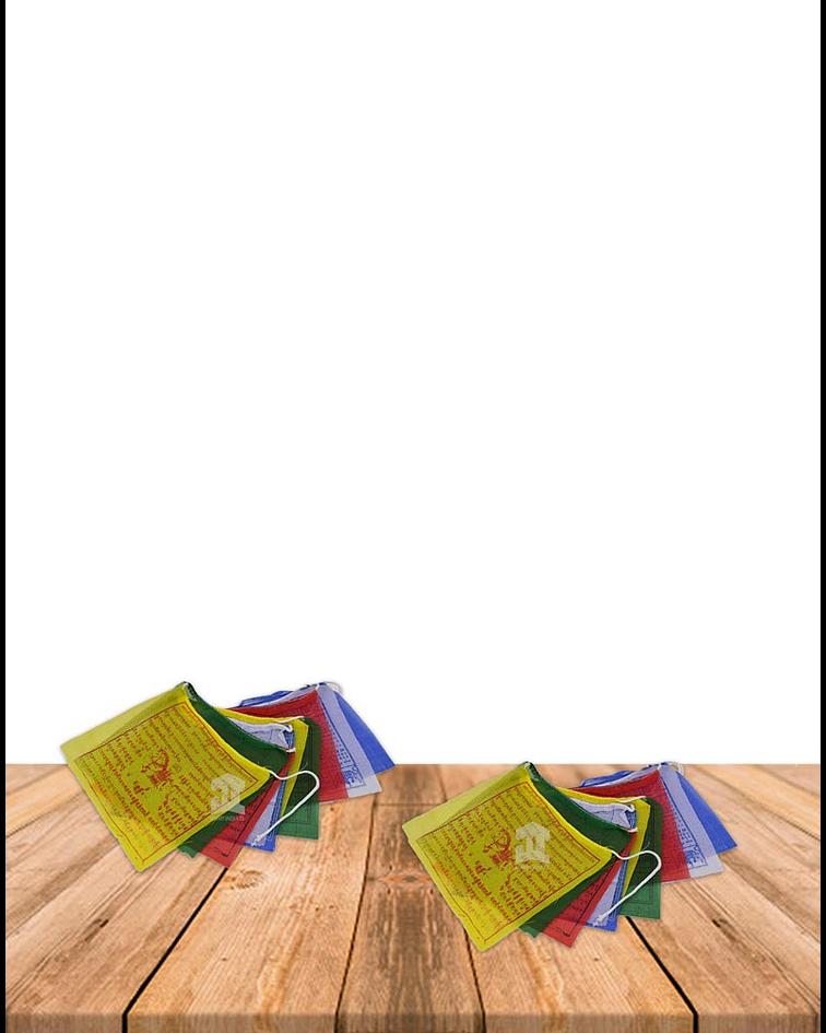 Banderas Tibetanas N°1  VDQ20-10