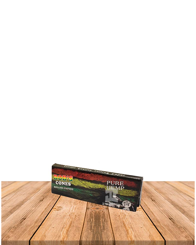 Papelillo Bob Marley Organic Hemp 1 1/4