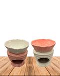 Difusor de cerámica Flor  Pétalos JI19-209
