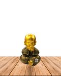 "Figura Buda Joven Ciego, Sordo y Mudo, Poliresina 5"" JI21-27"