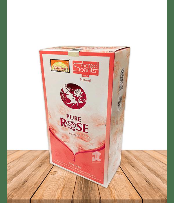 Incienso Parimal Pure Rosa  28Gr 10'