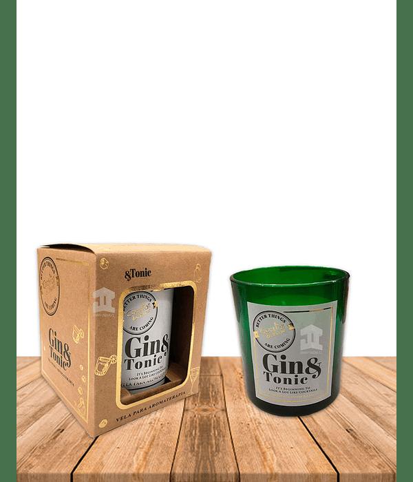 Vela Aromaticas Vidrio Gin& Tonic CK-57