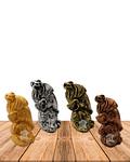 "Set Figura Ganesh  Poliresina  2,5"" JI21-51"