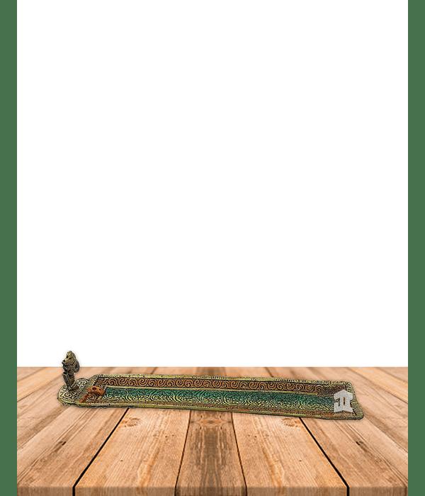 Porta Incienso de Metal Colores Rectangular VDQ20-06