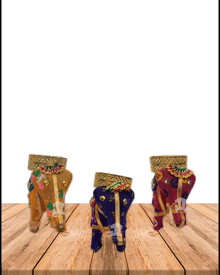 Porta Vela  Forma de Elefante VDQ20-27