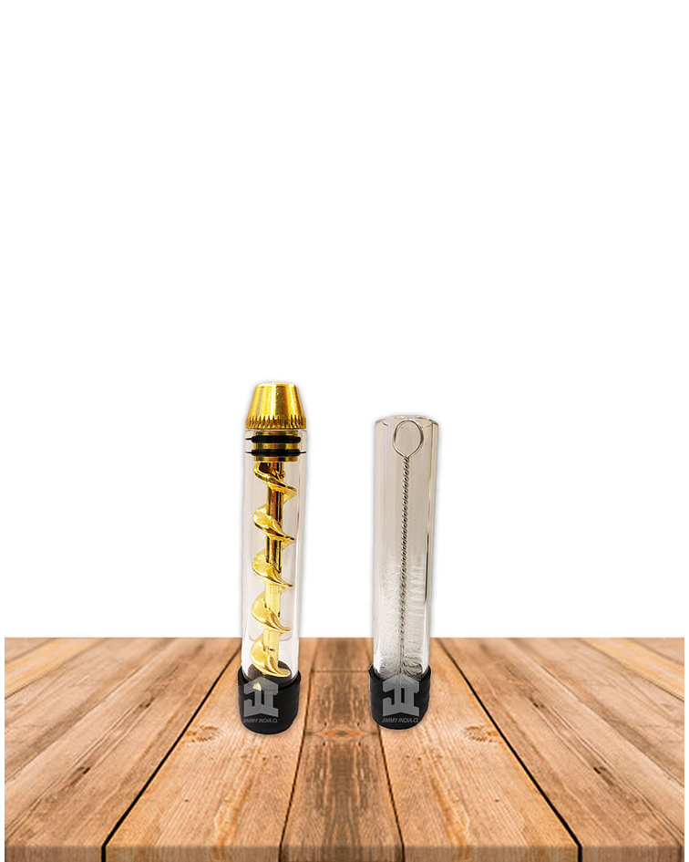 Pipa de Vidrio Espiral DK8470