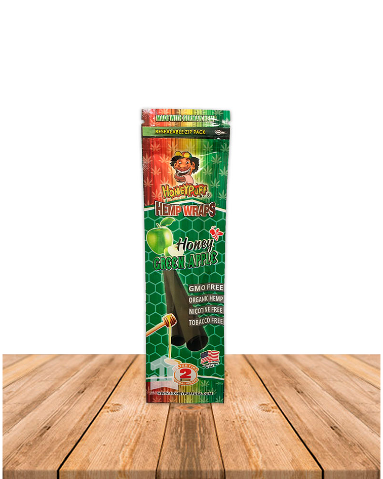 Honey Puff  X2 Manzana Verde