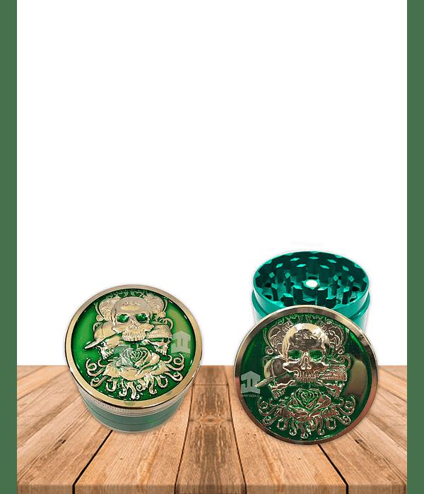 Moledor  Metalico Calavera Colores DK5081Q-4