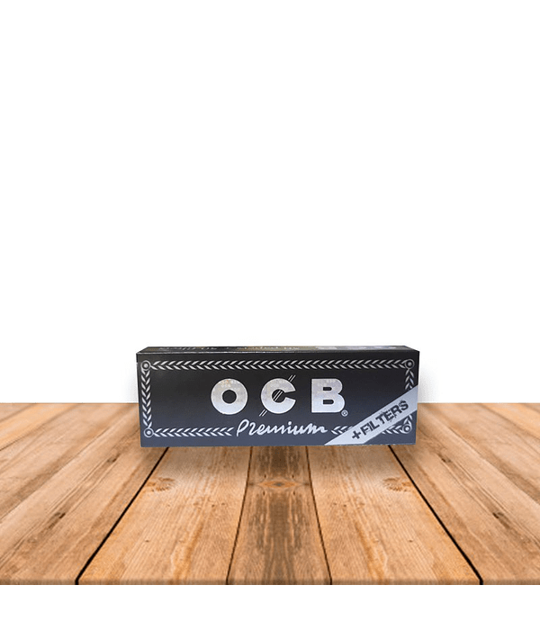 OCB Premium 1 1/4 + Tips Pack de 24