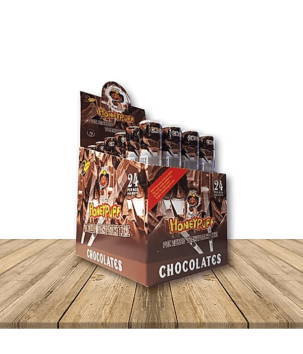 Cyclone Honeypuff Chocolate Display x 24