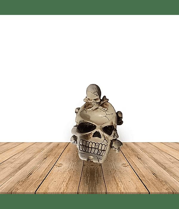 Cenicero Cráneo ojos y Dientes Hundido  B