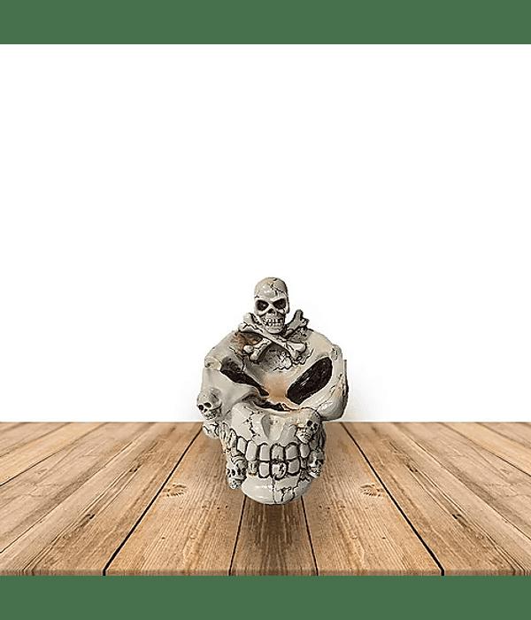 Cenicero Cráneo Ojos Hundido  #A