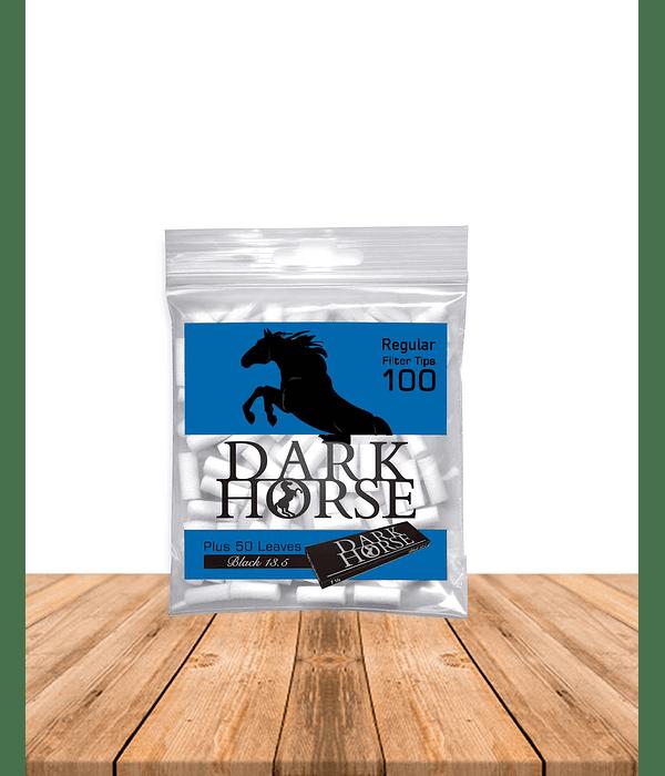 Dark Horse Filtro Regular 100 + Papelillo Black Display x 30