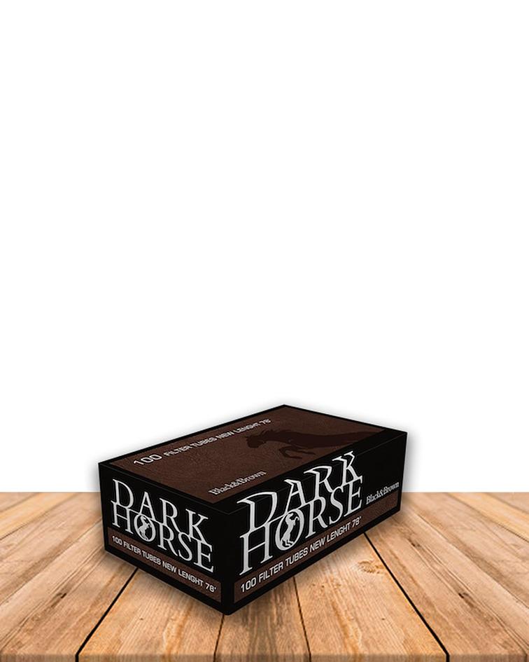 Tubo Dark Horse Para Rellenar Black & Brown