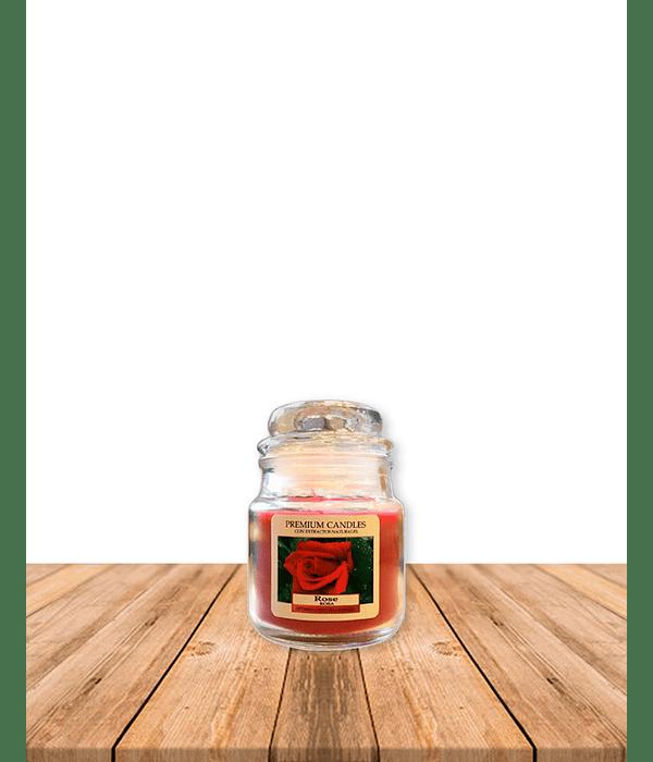 Vela Aromatica Rosa 80 grs