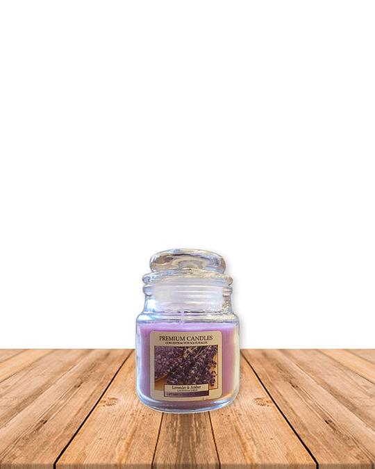 Vela Aromatica Lavanda Ambar 80 gr