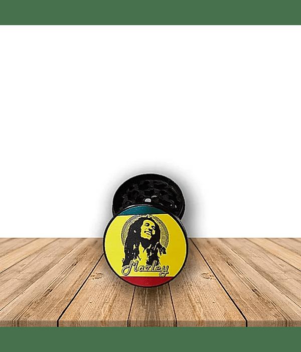 Moledor Metálico Edición Bob Marley 4 Piezas Pack de 3