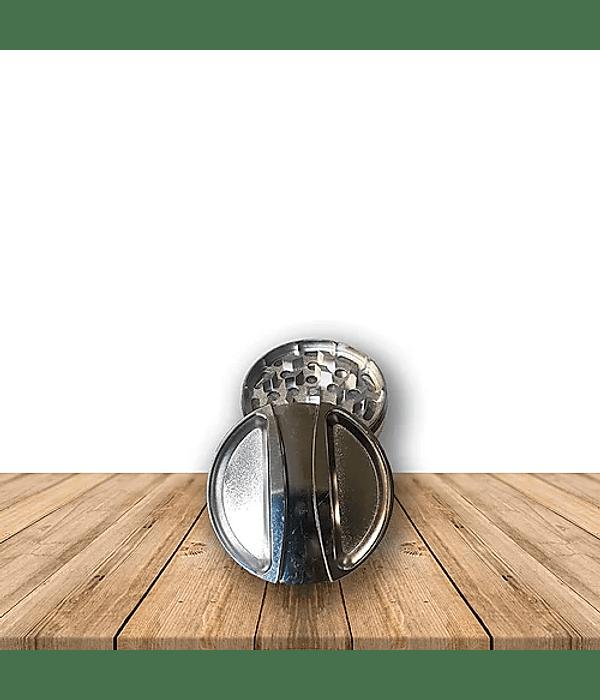 Moledor Metálico Diseño 3 Piezas