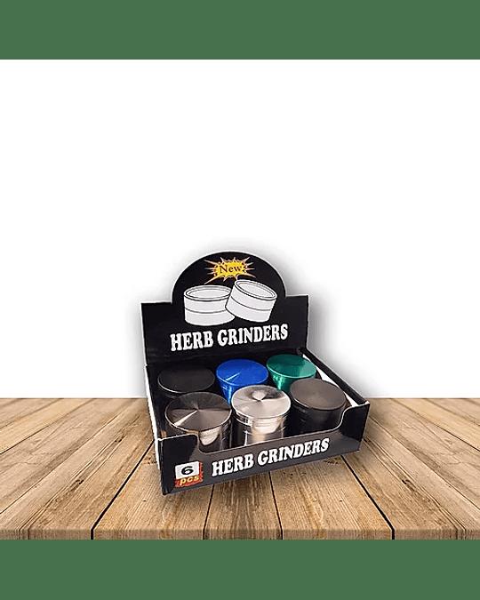Moledor Metalico 5 Piezas Pack de 3