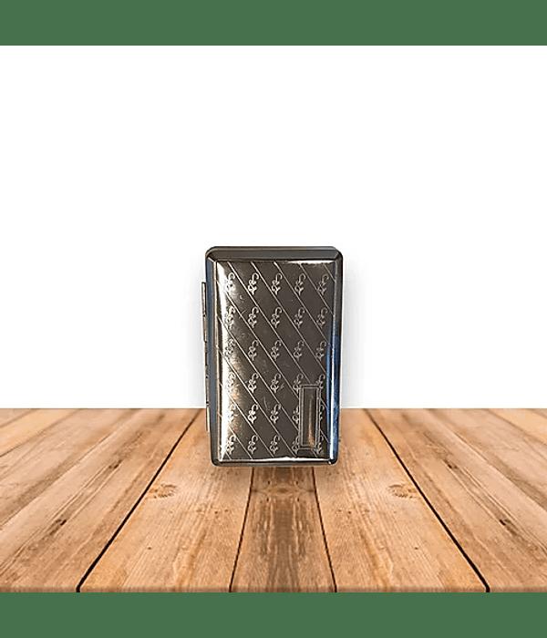 Porta Tabaco Metálico Pack de 6