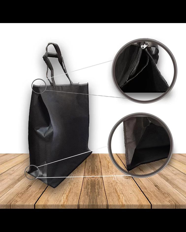 Bolsa Eco. Fuelle y Cierre 42.5 x 20.5 x 47.7 Cm