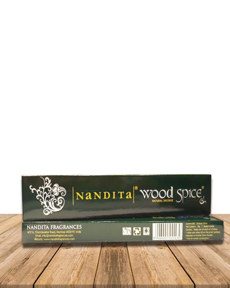 Incienso Nandita Wood Spice