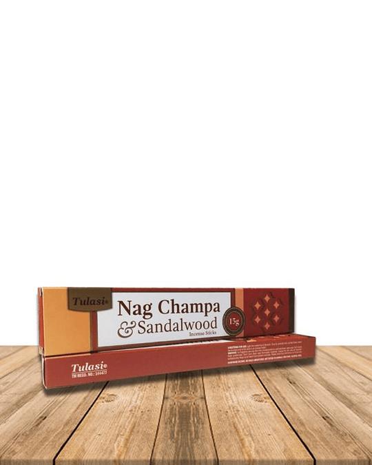 Incienso Tulasi Nag champa Sándalo