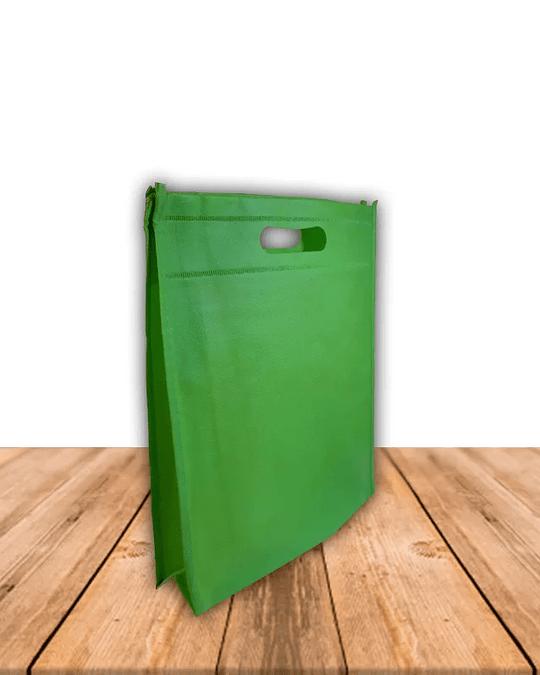 Bolsa Ecológica Con Fuelle 25 x 30 cms, Precio x Docena