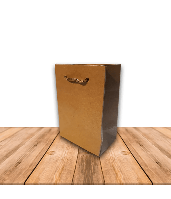 Bolsa De Papel Kraft 11 x 8 cms Precio x Docena